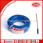 PVC insulated and coated copper electric cable 2.5mm