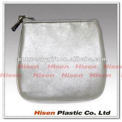 fashion small square silver white wallet
