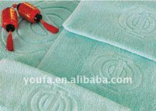 2012 New Style Yarn Dye Satin File Bath Towel