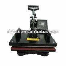 CE shaking head t shirt heat press printing machine,heat press