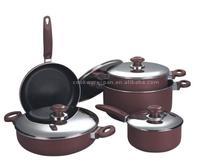 9pcs Non-stick Cookware Sets&New kitchenware