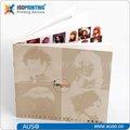 Impression offset papier d'art glacé catalogue de couleur de cheveux