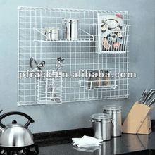 Multifunction metal kitchen plate holder P-0016
