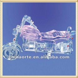 Hand Made Crystal Motorcycle Gift For Festival Giveaways
