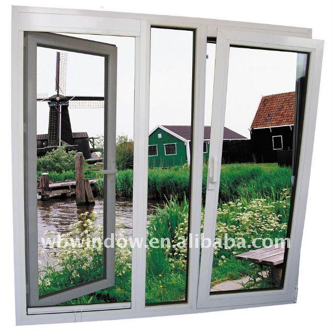 European style tilt and turn window pvc windows and doors for European style windows