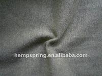 knitted hemp/P.E.T fleece natural or dyed colour,hemp fabrics