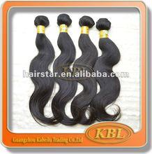 Hot sale weft Peruvian hair weft,guaranteed 100% human hair