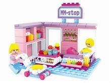 152pcs fairyland plastic building block toy