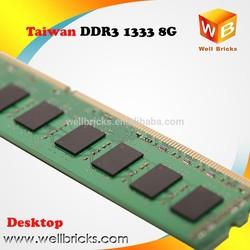 Taiwan hot selling Memory Desktop 512x8 16c 1333 8GB DDR3 RAM