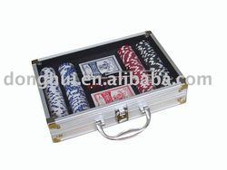 aluminun poker chip case