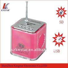 T-630 mini sound box speaker with fm