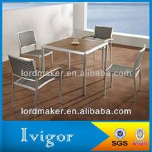 Polypropylene outdoor furniture of outdoor garden wooden chair swing (1+4) (1113#-6113#)