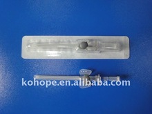 I.V Cannula with wing and injection port