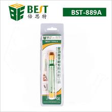 BEST-889A/B/C (6pcs screwdrivers hide in 1) Multi screwdriver tools