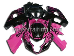 Plastic Motorcycle fairing kits/body parts/full fairing for SUZUKI GSXR600/750 04-05 2004 2005
