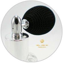 Gorgeous screw on cap with Bulb Air Pump Perfume bottle