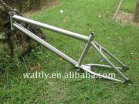 Titanium bike frame BMX series