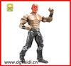 Plastic realistic wrestling action figurine for kids