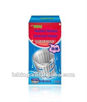 High efficiency washing machine tray cleaning powder