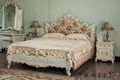 Barroco francês- móveis de madeira sólida folha douramento cama antiga
