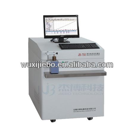 Papelería de laboratorio óptico espectrómetro de emisión de
