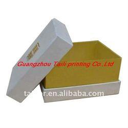 hot stamp,matt lamination paper jewelery box