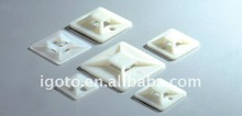 High adhensive factory price Nylon tie mounts