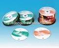 Non-printed / impreso DVD + / - R en la torta paquete de la caja ( YD-003 )