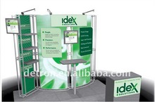 2012 10'x10' Aluminum temporary tradshow booth/custom design