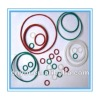 Colored silicone rubber o ring