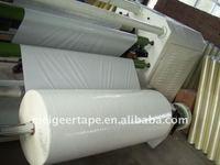 Our Korean Customer OPP White Packing Tape Jumbo Roll