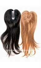 "On sale top quality 20"" Brazilian hair lace closure in stock hair replacement for women"