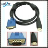 Mini HDMI to VGA cable with gold plated