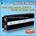 de alimentación de corriente continua dc convertidor de 220v 2000w