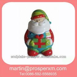 Ceramic christmas decorative candy jar