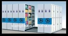 metal whole sealing compact mobile shelving