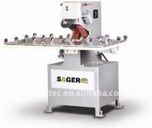 glass edge grinding machine, belt grinding machine, belt edging machine