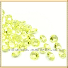Yellow Crystal Table Confetti for Party Favor