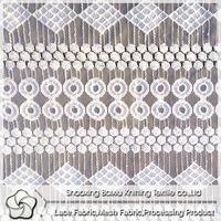 fashion cotton nylon lace fabric