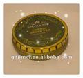 Pequeña lata redonda para crema de cuidado de la piel, lata metálica para crema