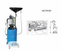 Kc-fa197 operada a ar de resíduos troca de óleo máquina e óleo escorredor