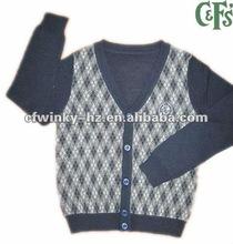 fashion high quality cardigan sweater boy