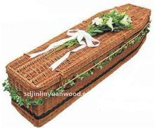European style willow coffins