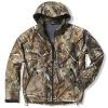 camo softshell hunting jacket