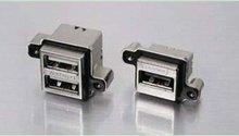 MUSB-A311-30 USB Connectors USB RECPT ON PCB RA IP67 TYPE A USB TERM
