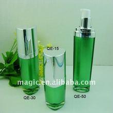 Heart shape Acrylic Lotion bottles body lotion bottle cosmetic bottles
