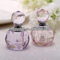 perfume fragrance bottle crystal,cute perfume bottle crystal MH-X0650