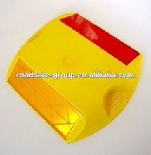 RSG best quality high reflective plastic road stud/road cat eye/3M Road Stud