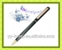 metal ball cross pen 1.0mm black refill