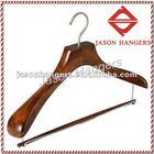 DL0917 Antique walnut color Suit Hangers
